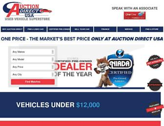 auctiondirectusa.com screenshot