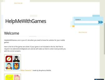 helpmewithgames.com screenshot