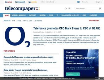 Main page screenshot of paper.nl