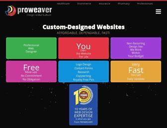 proweaver.com screenshot