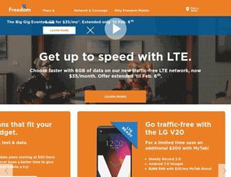 freedommobile.ca screenshot