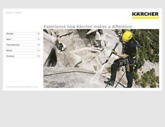 kaercher.com screenshot