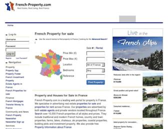 Thumbshot of French-property.com