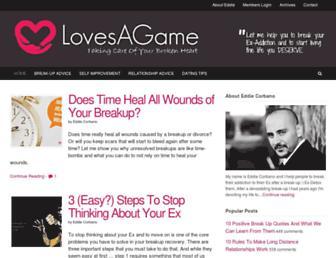 lovesagame.com screenshot