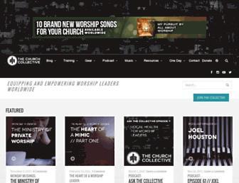 thechurchcollective.com screenshot