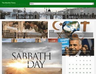 Thumbshot of Themuslimtimes.org
