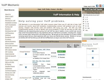 Thumbshot of Voipmechanic.com
