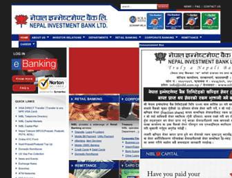 nibl.com.np screenshot