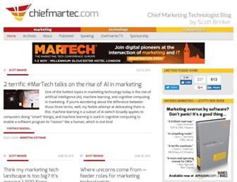 chiefmartec.com screenshot