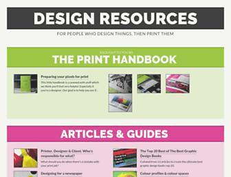 resources.printhandbook.com screenshot