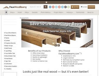 Thumbshot of Fauxwoodbeams.com