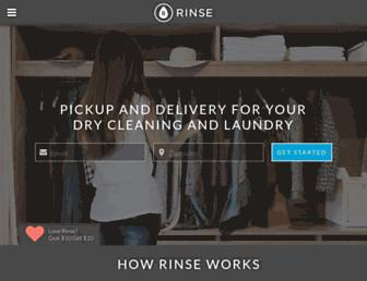 rinse.com screenshot