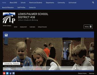 lewispalmer.org screenshot