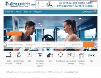 fitnessmarkt.com screenshot