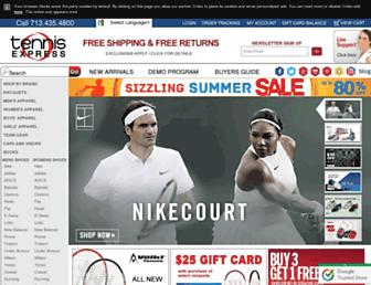 Thumbshot of Tennisexpress.com