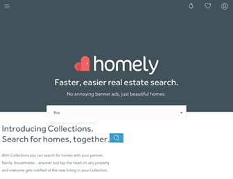 homely.com.au screenshot