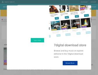 m.7digital.com screenshot