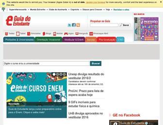 guiadoestudante.abril.com.br screenshot