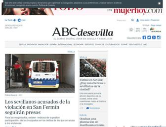 sevilla.abc.es screenshot