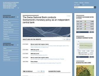 snb.ch screenshot