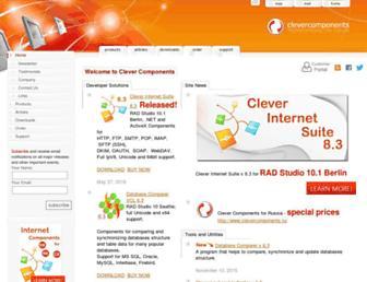 clevercomponents.com screenshot