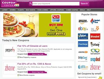 Thumbshot of Couponcenter.in