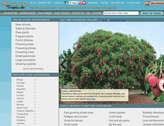 Thumbshot of Toptropicals.com