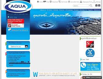 aqua.co.th screenshot