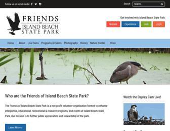 friendsofibsp.org screenshot