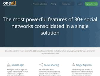Thumbshot of Oneall.com