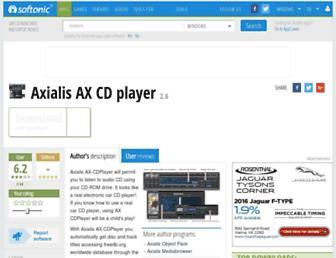 axialis-ax-cd-player.en.softonic.com screenshot
