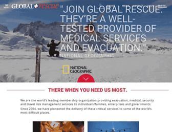 globalrescue.com screenshot