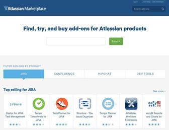 marketplace.atlassian.com screenshot