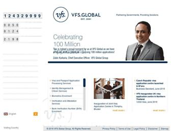 vfsglobal.com screenshot