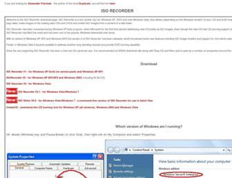 isorecorder.alexfeinman.com screenshot