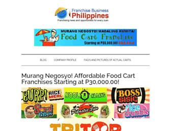 franchisebusinessphilippines.com screenshot