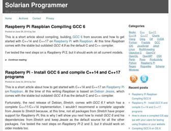 solarianprogrammer.com screenshot