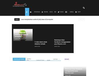 riaume.com screenshot