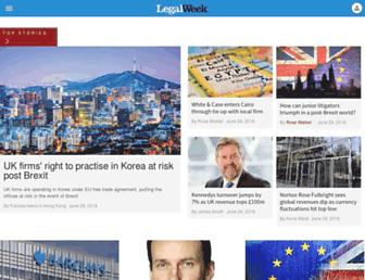 Thumbshot of Legalweek.com