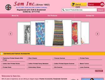 Thumbshot of Sam-incorporated.com