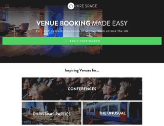 hirespace.com screenshot