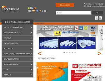 accesfluid.com screenshot