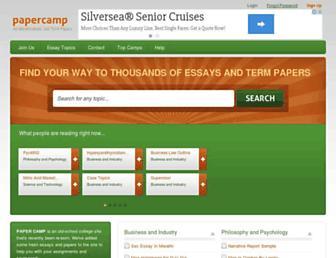 papercamp.com screenshot