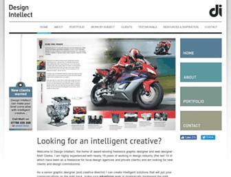 design-intellect.co.uk screenshot