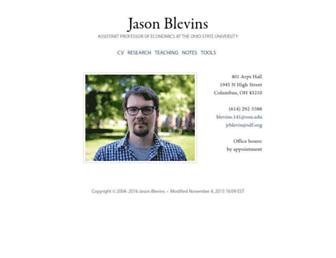 jblevins.org screenshot