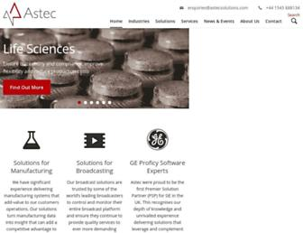astecsolutions.com screenshot