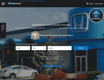 middletownhonda.com screenshot