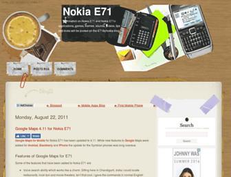 e71bynokia.blogspot.com screenshot
