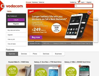 Thumbshot of Vodacom.co.za