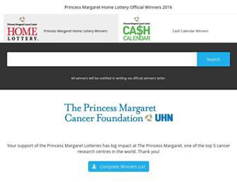 Thumbshot of Princessmargaretlotto.com